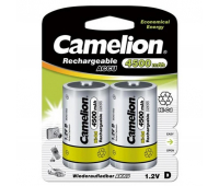 Аккумулятор Camelion D 4500mAh Ni-Cd * 2 R20-2BL (NC-D4500BP2)