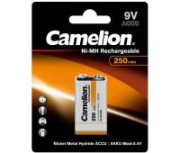 Аккумулятор Крона 250mAh Ni-MH * 1 6F22-1BL Camelion (NH-9V250BP1)