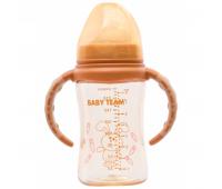 Бутылочка для кормления Baby Team с широким горлом 240 мл (1090)