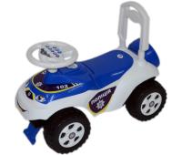 Чудомобиль Active Baby Police музичний біло-синій (013117-0101М)