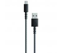 Дата кабель Anker USB 2.0 AM to Type-C 1.8m Powerline Select+ Black (A8023H11)