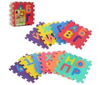 Детский коврик Bambi Буквы (M 2609 EVA)