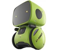 Интерактивная игрушка AT-Robot робот с голосовым управлением зеленый, укр (AT001-02-UKR)