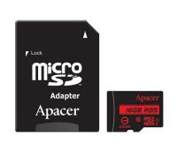 Карта памяти Apacer 16GB microSDHC Class10 UHS-I U1 (R85 MB/s) (AP16GMCSH10U5-R)