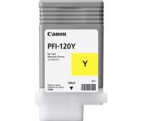 Картридж Canon PFI-120 Yellow, 130ml (2888C001AA)