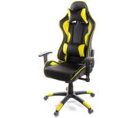Кресло игровое АКЛАС Хорнет PL RL Желтое (06153)