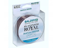 Леска Balzer Platinum Royal Match/Feeder 0.20мм 200м 3.80кг тонущая (12097 020)