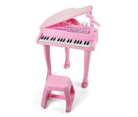 Музыкальная игрушка Baoli пианино - синтезатор Маленький музикант с микрофоном и стул (BAO-1403-P)