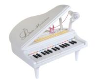 Музыкальная игрушка Baoli пианино-синтезатор Маленький музикант с микрофоном 31 клави (BAO-1504C-W)