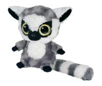Мягкая игрушка Aurora Yoo Hoo Кошачий лемур сияющие глаза 23 см (71012D)