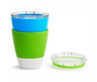 Набор детской посуды Munchkin Splash стаканчиков 2 шт Зеленый, Голубой (11425.02)
