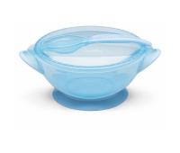 Набор детской посуды Nuvita COOL 6м+ Синий дорожный (NV1421COOLBLUE)