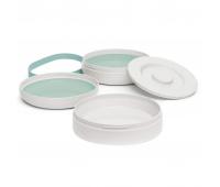 Набор детской посуды Suavinex Hygge Уютные истории 2 тарелки бирюзовые (306751)