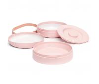 Набор детской посуды Suavinex Hygge Уютные истории 2 тарелки розовые (306749)