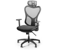 Офисное кресло Barsky Butterfly White/Black (Fly-03)
