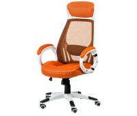 Офисное кресло Special4You Briz orange/white (000002193)