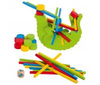 Развивающая игрушка Goki Балансирующий крокодил (56966G)