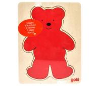 Развивающая игрушка Goki Разноцветные мишки (57884)