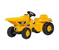 Веломобиль Rolly Toys Самосвал rollyKid Dumper CAT желтый (024179)