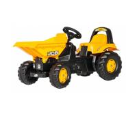 Веломобиль Rolly Toys Самосвал rollyKid Dumper JCB желтый (024247)
