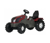 Веломобиль Rolly Toys Трактор rollyFarmtrac Valtra T213 серый-бордо (601233)