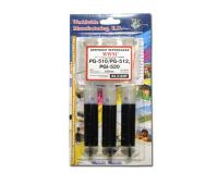 Заправочный набор WWM Canon PG-510/PG-512 (3х20 мл) Black Pigmented (IR3.C10/BP)