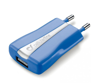 Зарядное устройство 1*USB 1A CellularLine (ACHUSBCOMPACTCB)